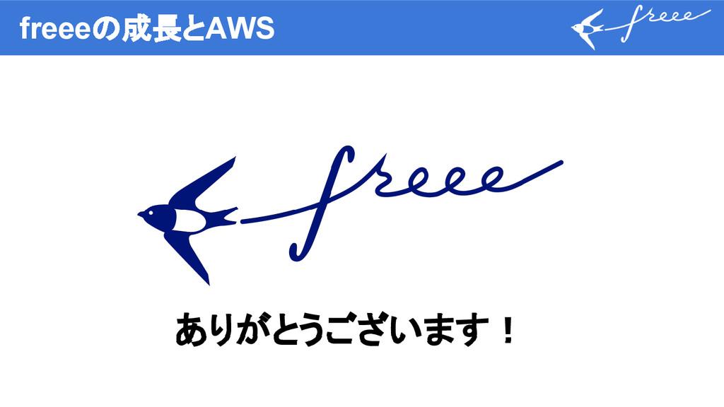 freeeの成長とAWS ありがとうございます!