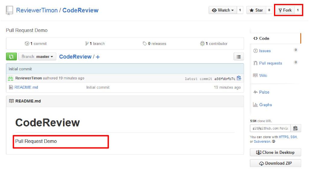 GitHub Fork/Branch • Fork project on GitHub or ...