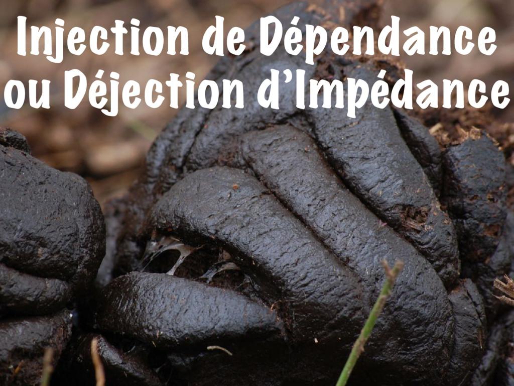 Injection de Dépendance ou Déjection d'Impédance