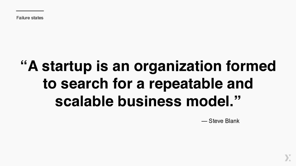 """A startup is an organization formed to search ..."