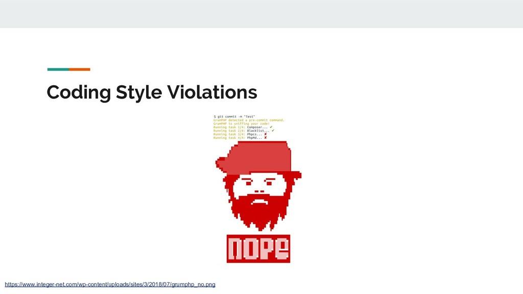 Coding Style Violations https://www.integer-net...