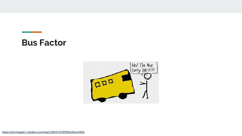 Bus Factor https://cdn-images-1.medium.com/max/...