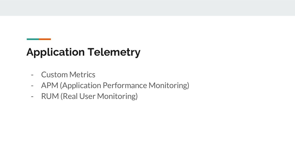 - Custom Metrics - APM (Application Performance...