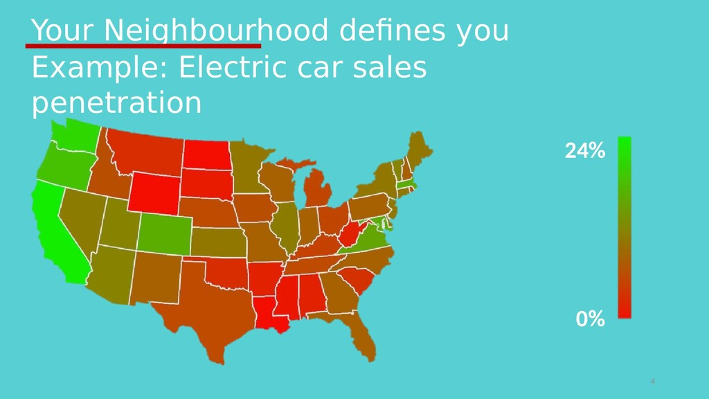 Your Neighbourhood defines you 4 24% 0% Example...