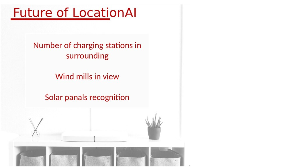 Number of charging stations in surrounding Wind...