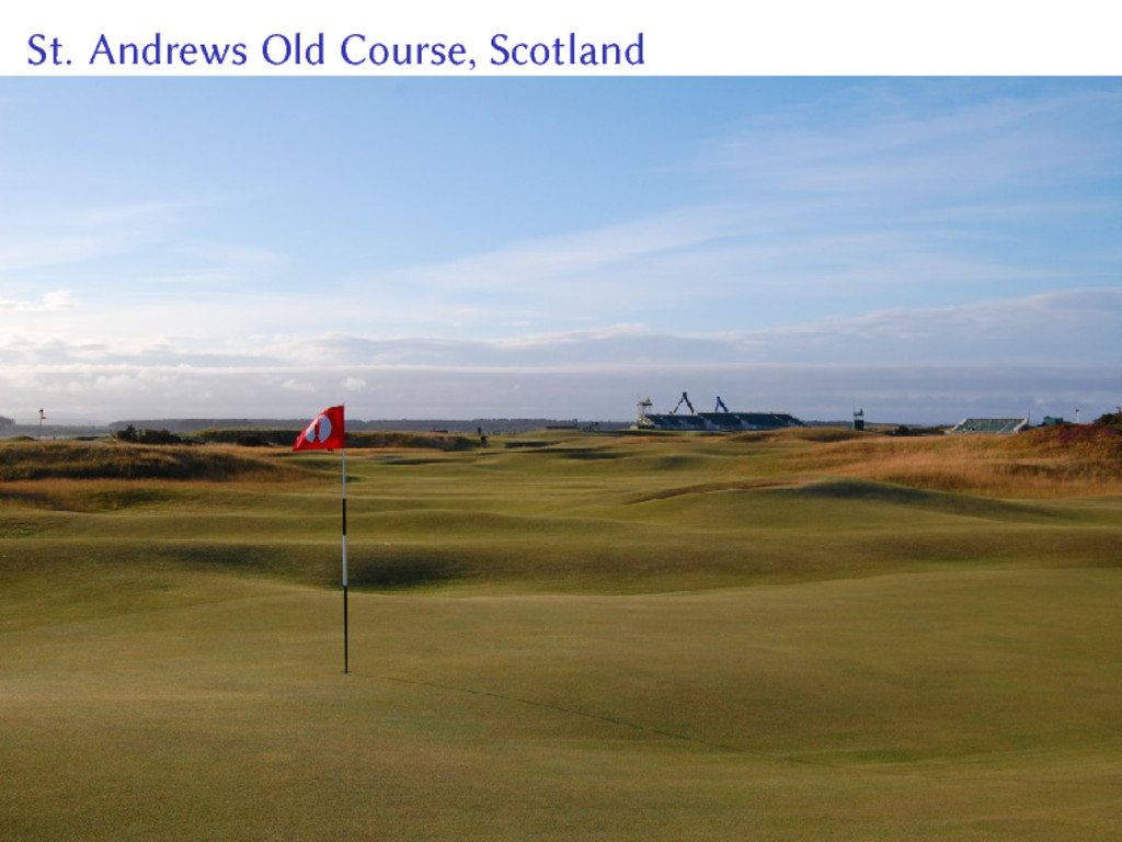 St. Andrews Old Course, Scotland
