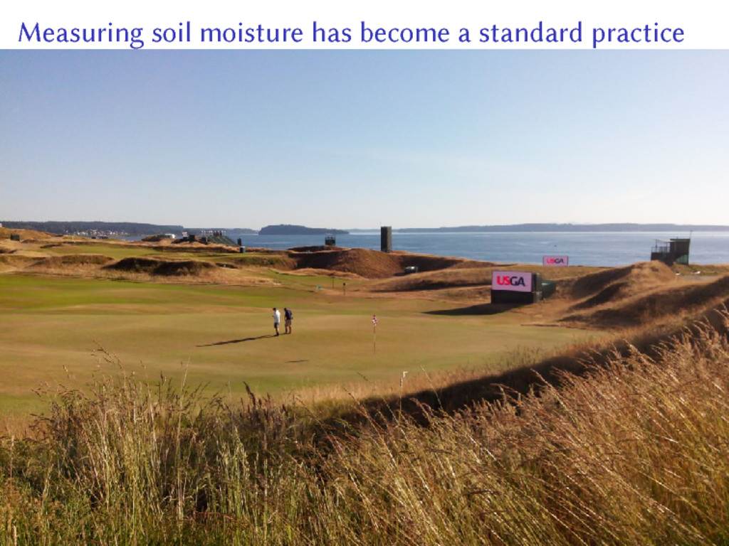 Measuring soil moisture has become a standard p...
