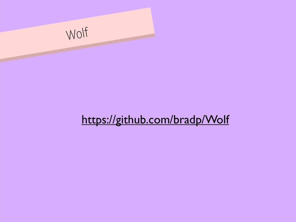 Wolf https://github.com/bradp/Wolf