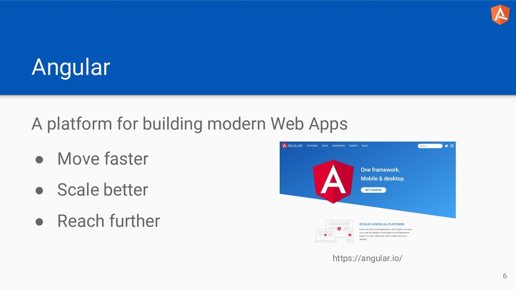 Angular A platform for building modern Web Apps...