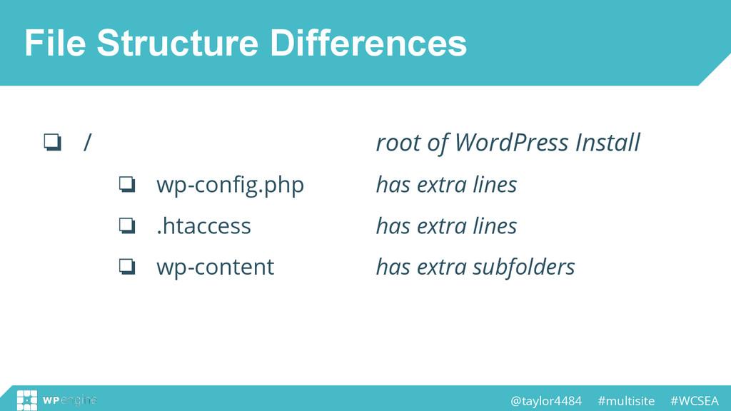 @taylor4484 #multisite #WCSEA File Structure Di...