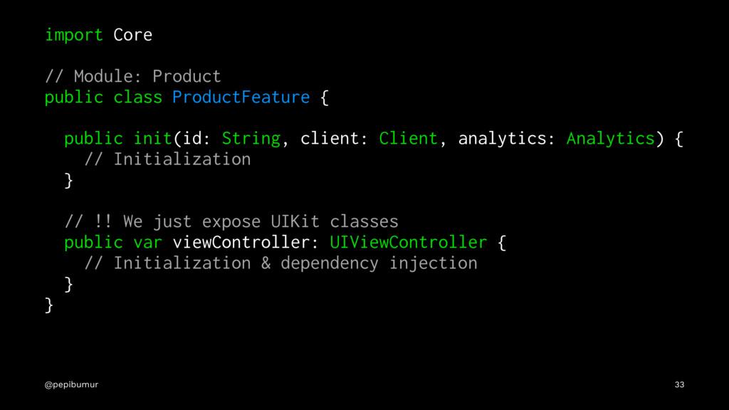 import Core // Module: Product public class Pro...