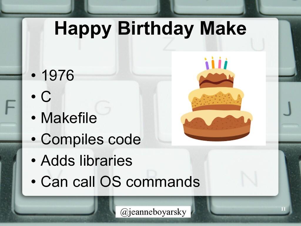 @jeanneboyarsky Happy Birthday Make • 1976 • C ...