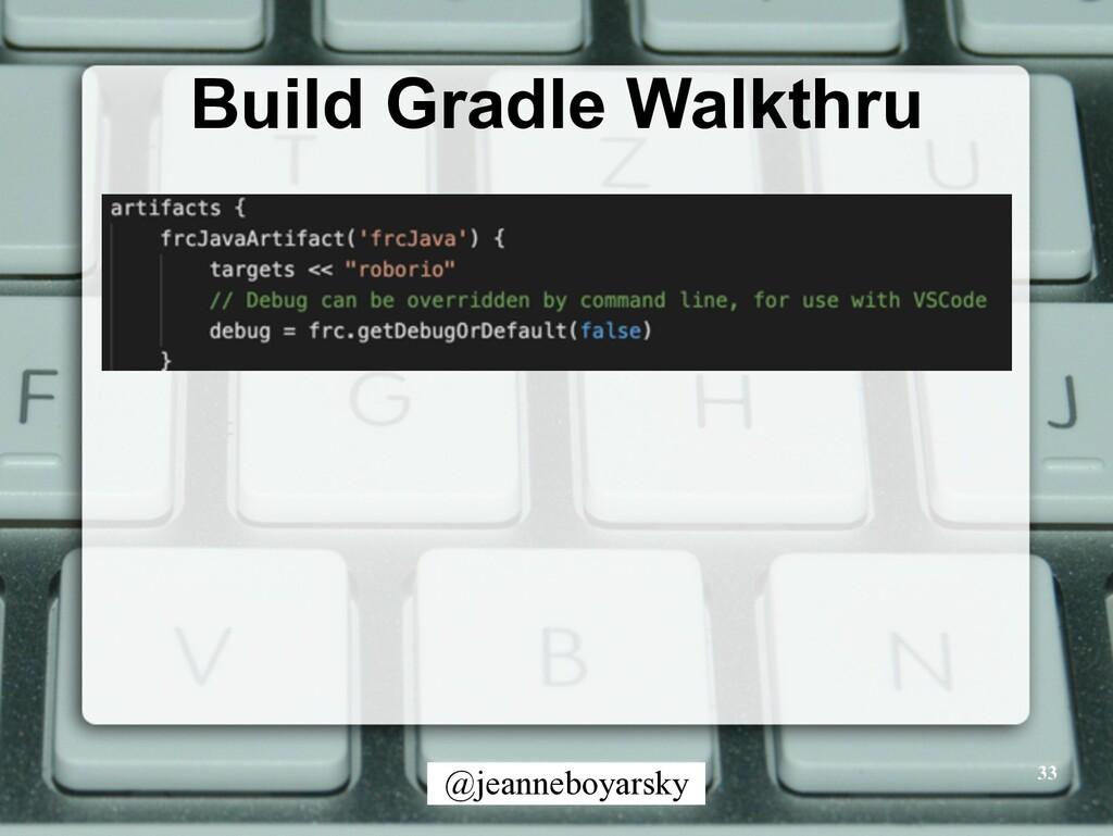 @jeanneboyarsky Build Gradle Walkthru 33