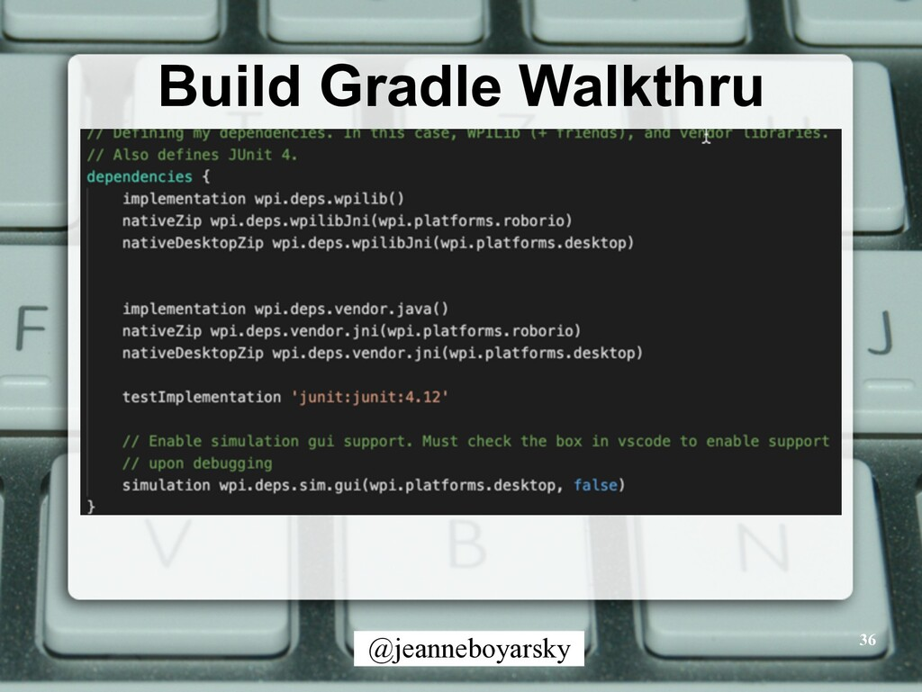 @jeanneboyarsky Build Gradle Walkthru 36