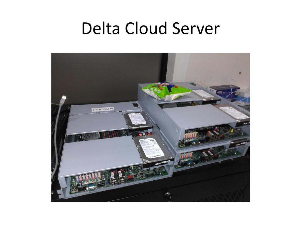 Delta Cloud Server