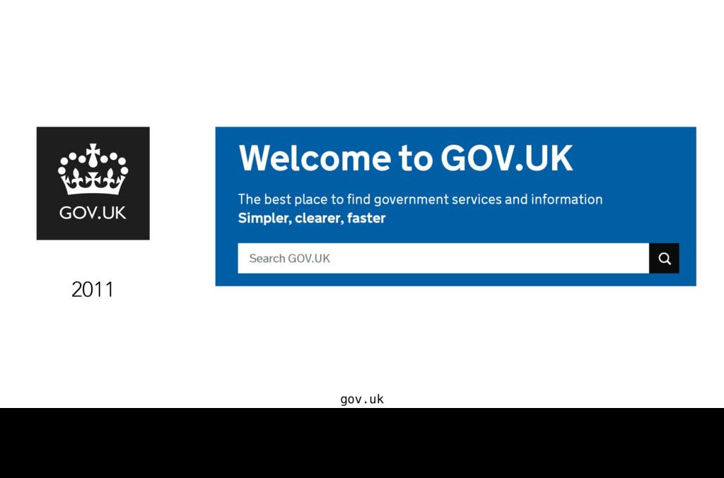 gov.uk 2011 Et ce point d'entrée, c'est… une ba...