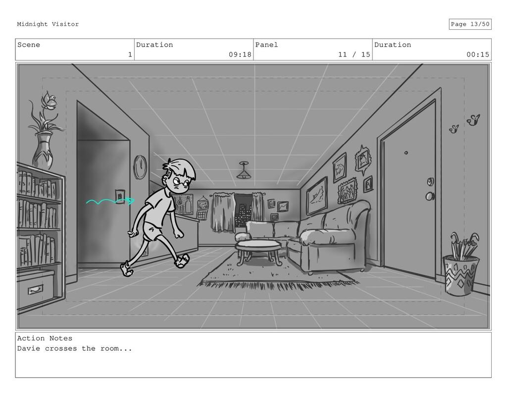Scene 1 Duration 09:18 Panel 11 / 15 Duration 0...