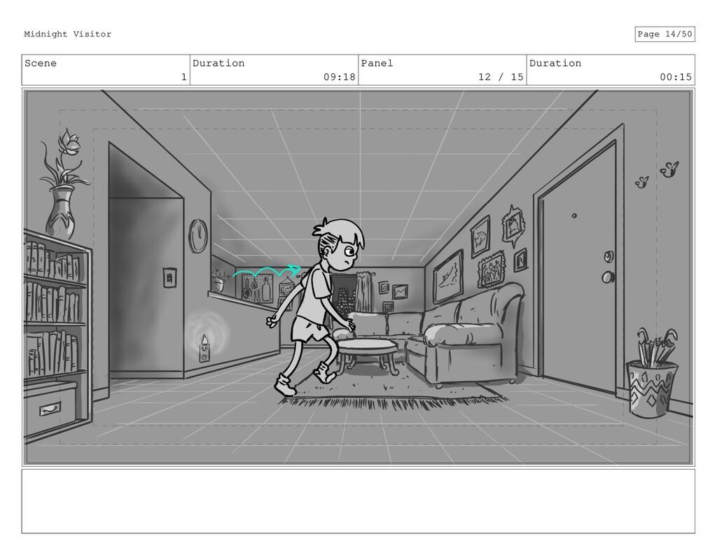 Scene 1 Duration 09:18 Panel 12 / 15 Duration 0...