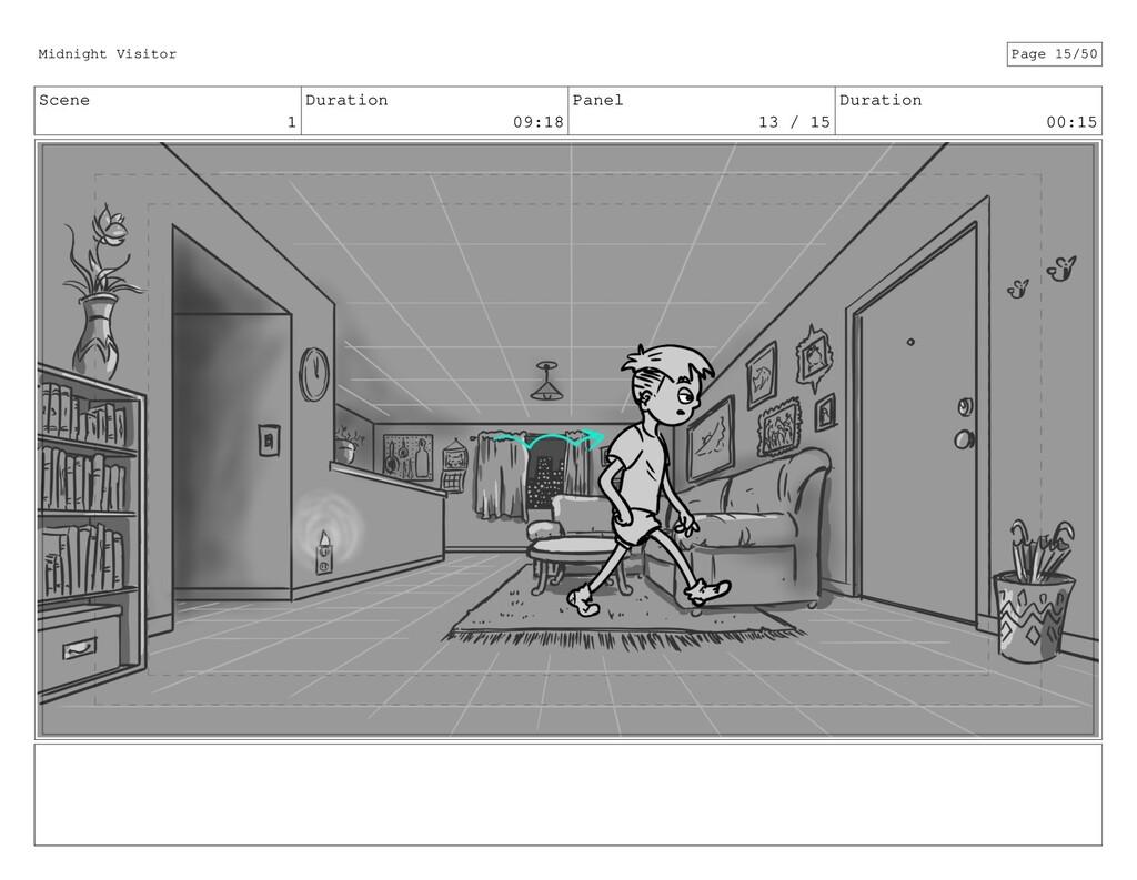 Scene 1 Duration 09:18 Panel 13 / 15 Duration 0...