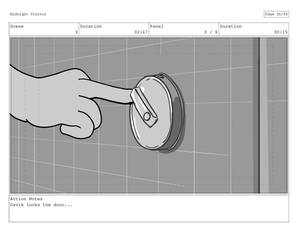 Scene 4 Duration 02:17 Panel 3 / 6 Duration 00:...