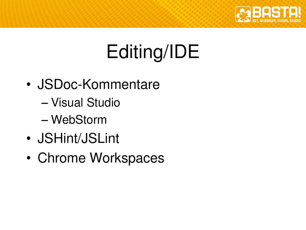 Editing/IDE • JSDoc-Kommentare – Visual Studio ...