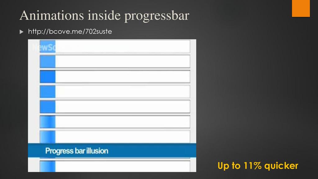 Animations inside progressbar  http://bcove.me...