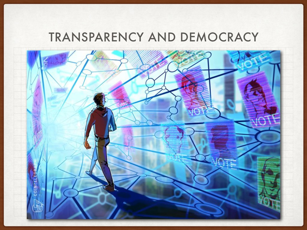 TRANSPARENCY AND DEMOCRACY