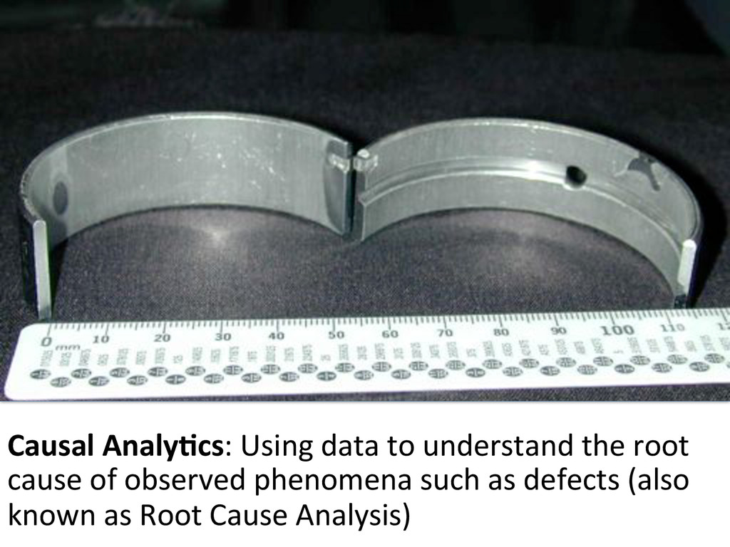 Part#with#defect# Causal$Analy-cs:#Using#data#t...