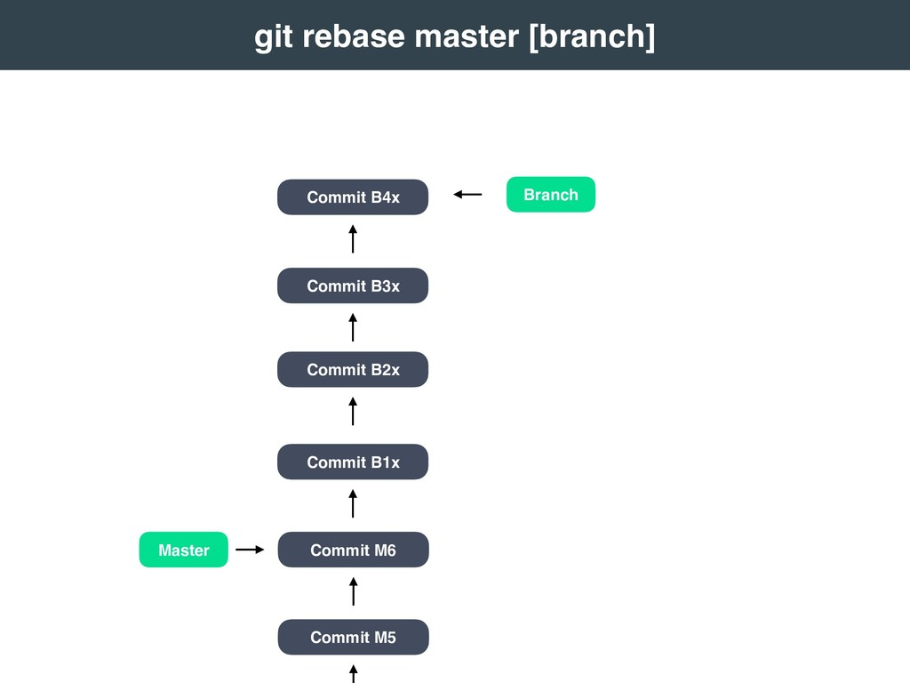 Branch Master Commit M5 Commit M6 Commit B1x Co...