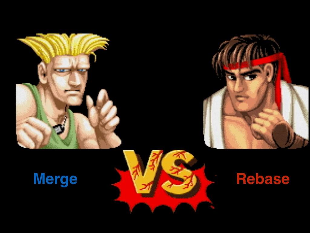 Merge Rebase