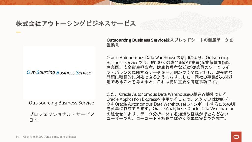 株式会社アウトーシングビジネスサービス Outsourcing Business Servic...