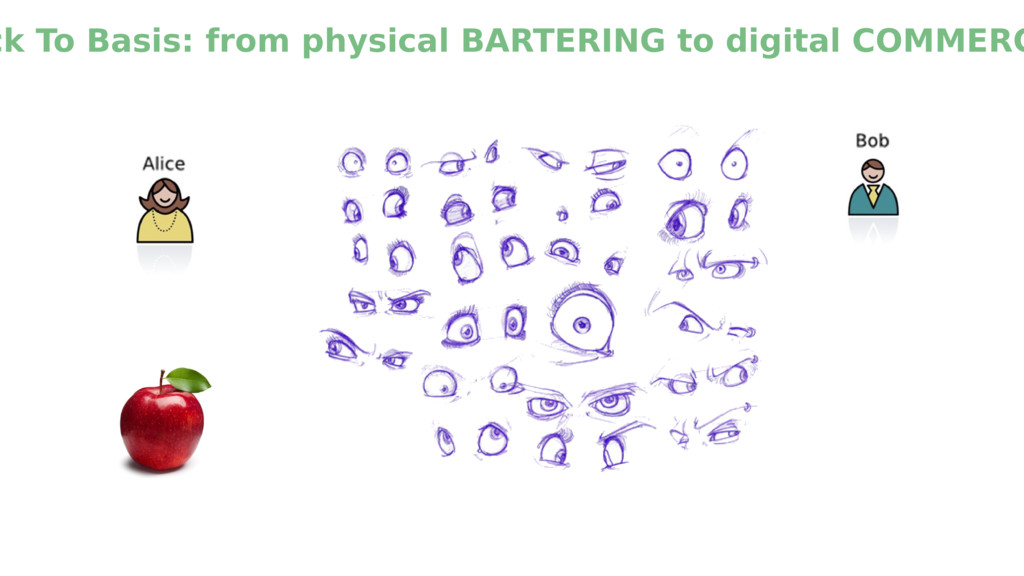 ck To Basis: from physical BARTERING to digital...