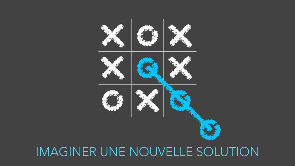 IMAGINER UNE NOUVELLE SOLUTION