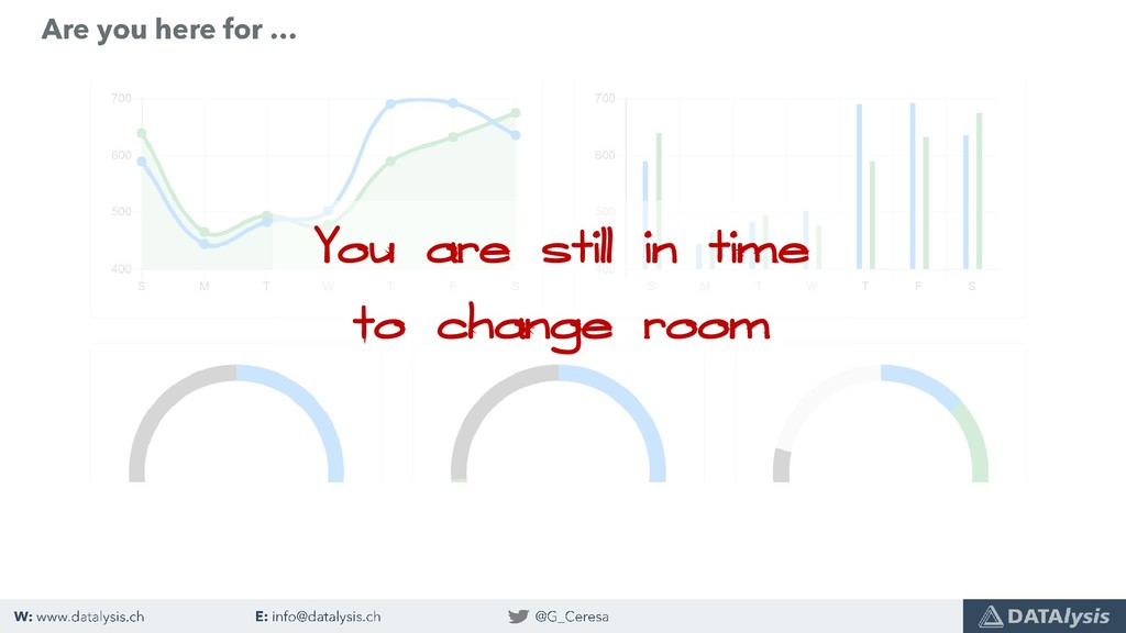 You are still in time to change room