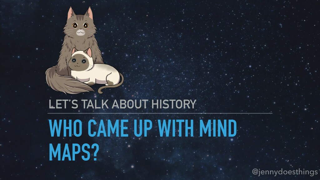 WHO CAME UP WITH MIND MAPS? LET'S TALK ABOUT HI...