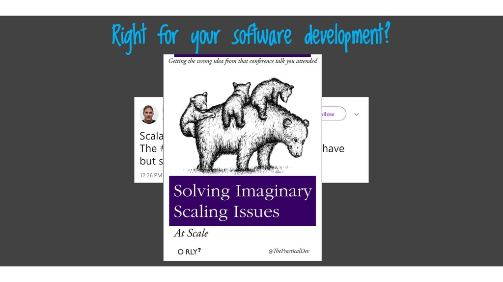 Click here Right for your software development?