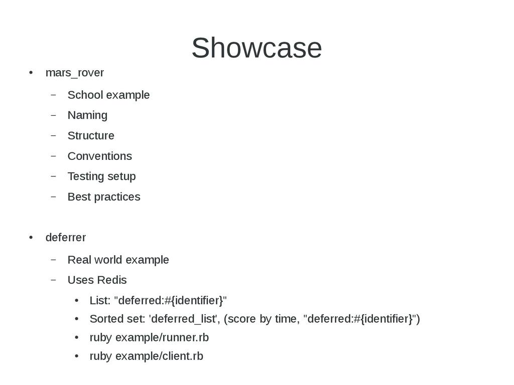 Showcase ● mars_rover – School example – Naming...