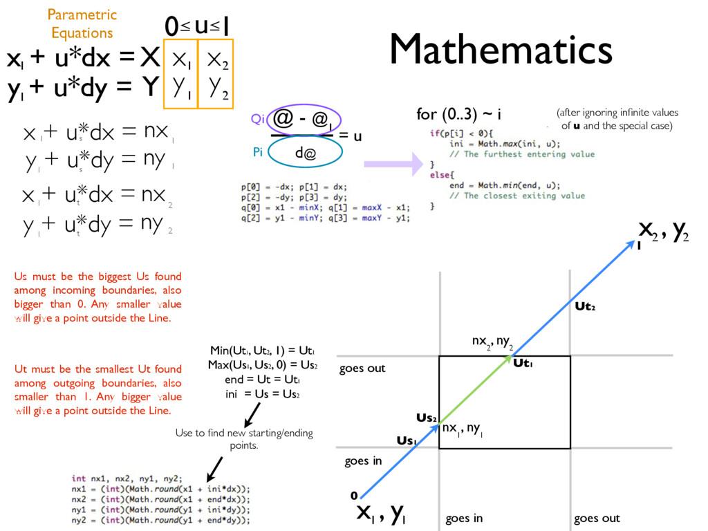 x , y 1 1 x , y 2 2 u x + u*dx = y + u*dy = 1 1...