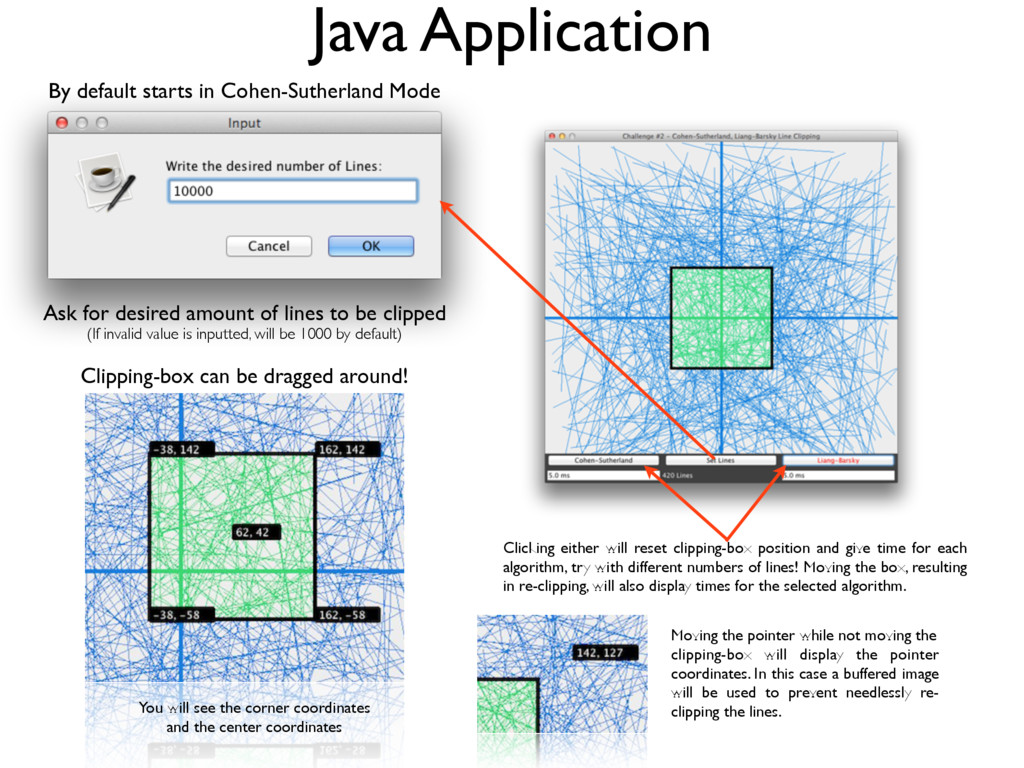 Java Application Ask for desired amount of line...