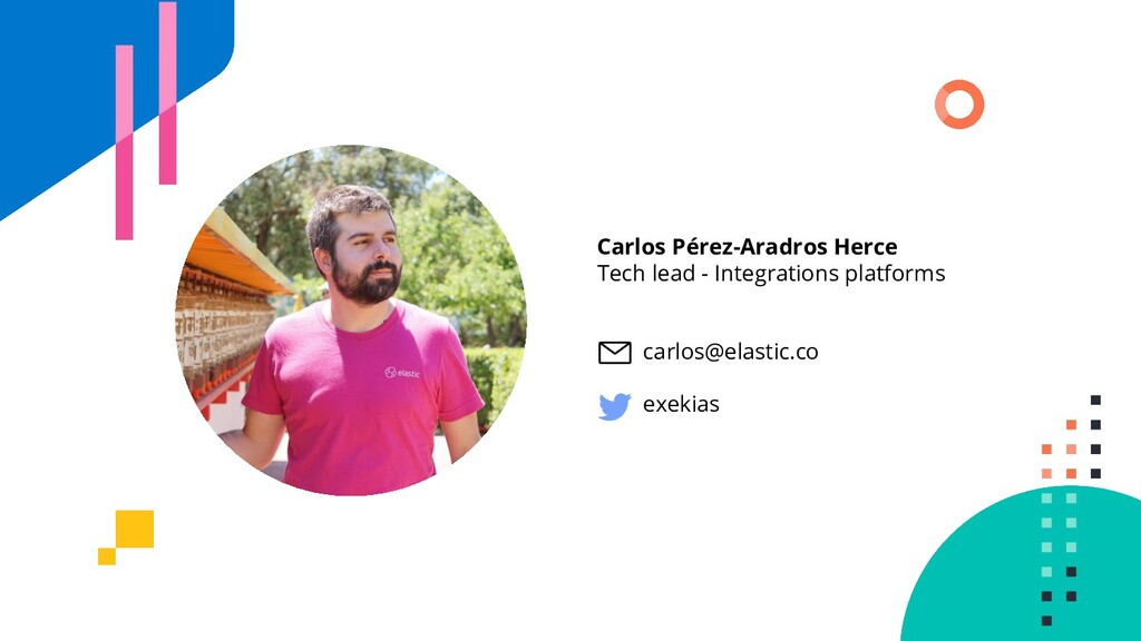 Carlos Pérez-Aradros Herce Tech lead - Integrat...