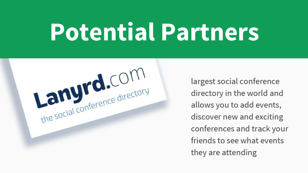 largest social conference directory in the worl...