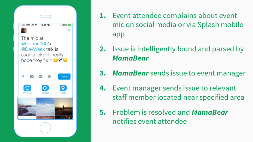 1. Event attendee complains about event mic on ...