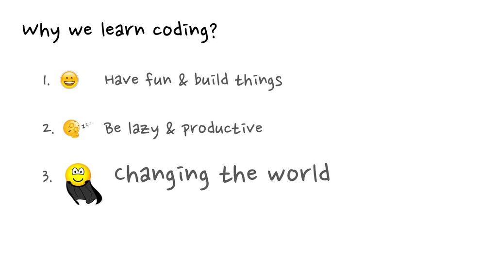 Why we learn coding?