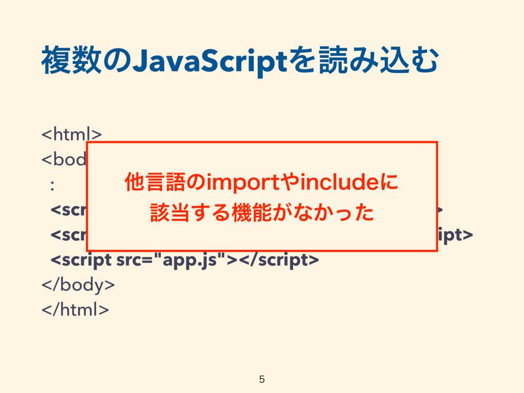 ෳͷJavaScriptΛಡΈࠐΉ <html> <body> : <script s...