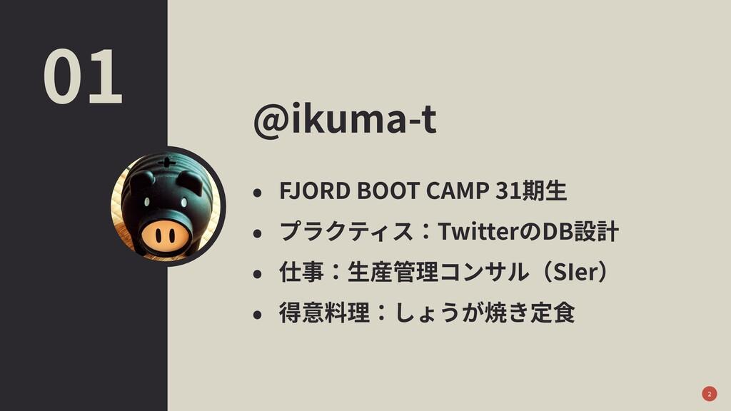 @ikuma-t • FJORD BOOT CAMP 31期⽣ • プラクティス:Twitte...