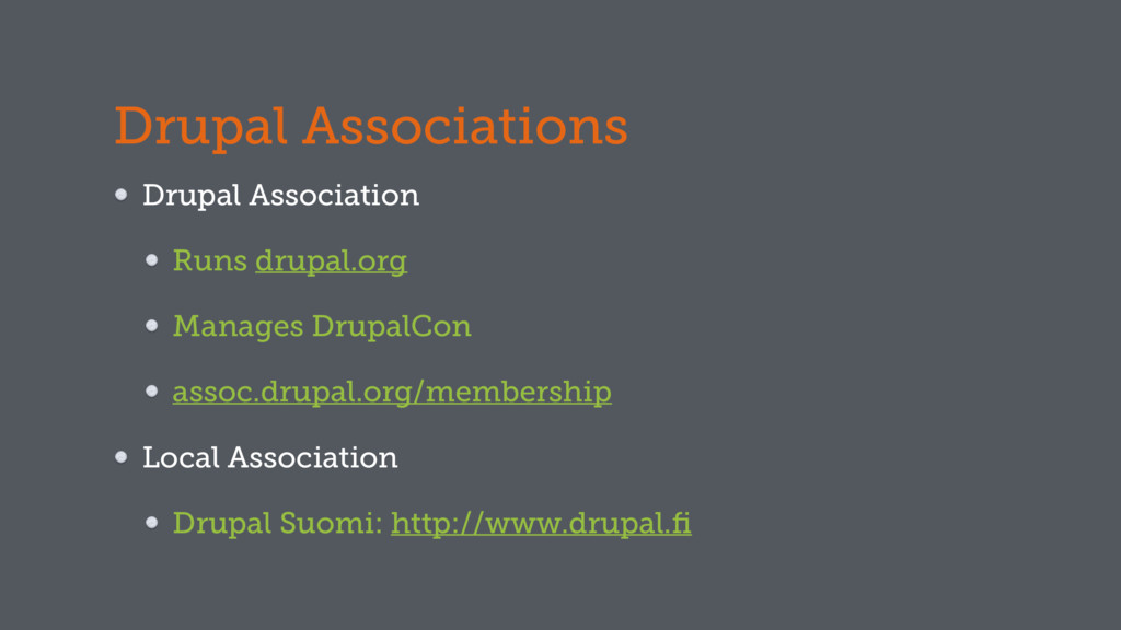Drupal Associations Drupal Association Runs dru...