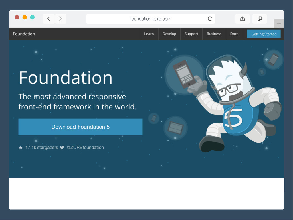+ foundation.zurb.com