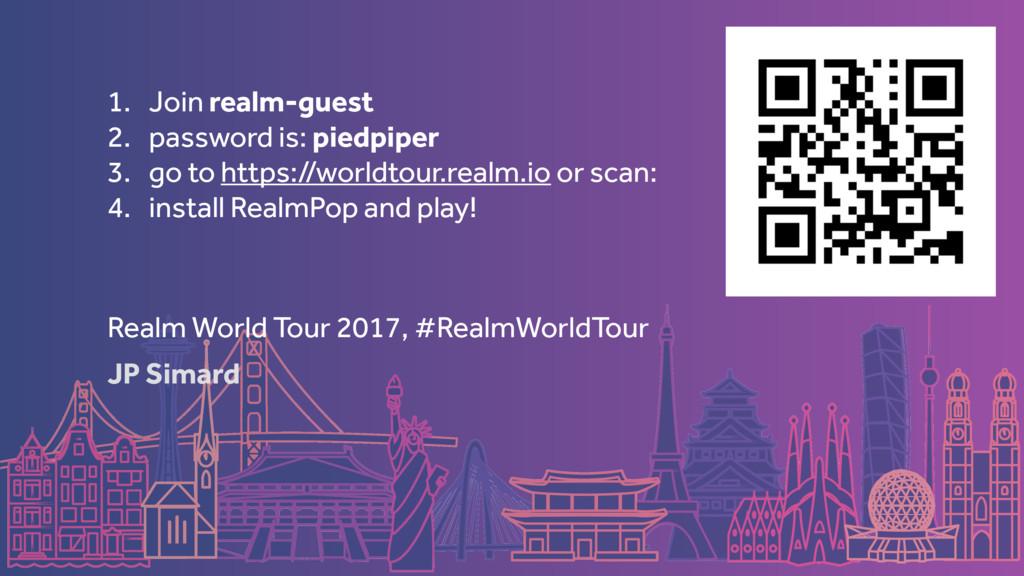 JP Simard Realm World Tour 2017, #RealmWorldTou...