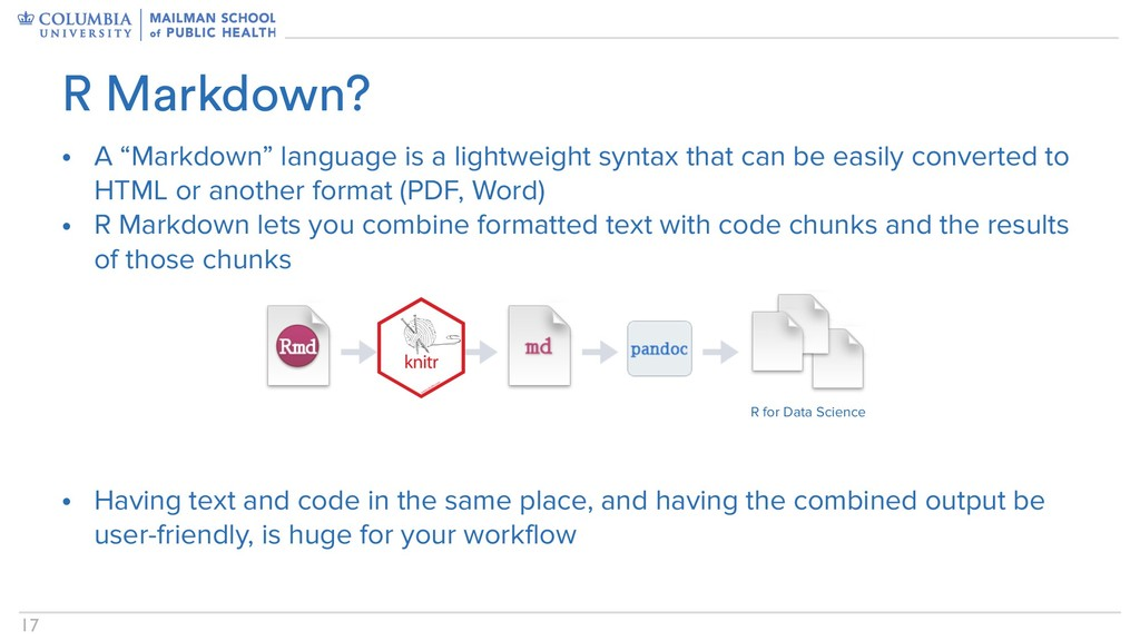 "!17 • A ""Markdown"" language is a lightweight sy..."