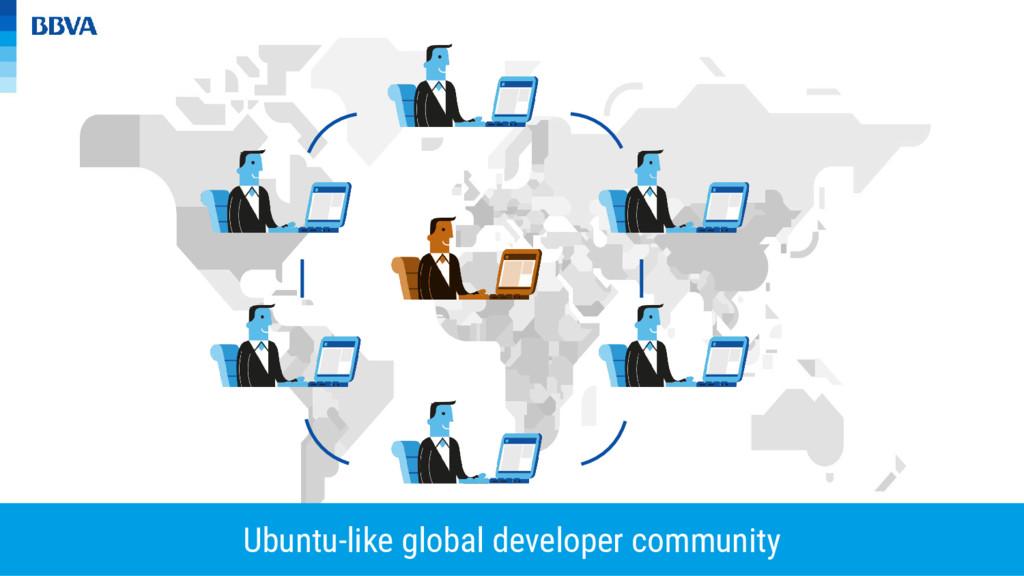Ubuntu-like global developer community
